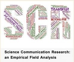 Science Communication Research: an Empirical Field Analysis